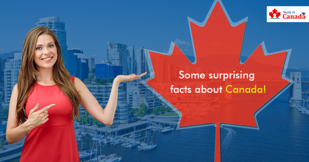Surprising facts about Canada!