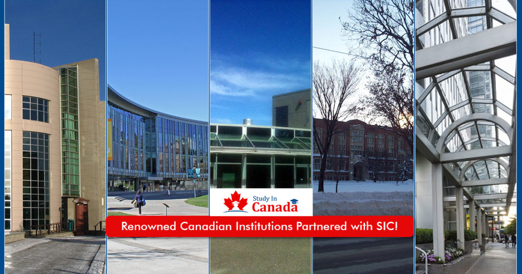 Renowned Canadian Institutions Partnered with SIC!